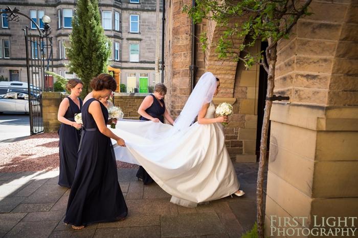 Wedding at St Peters Catholic Church Edinburgh
