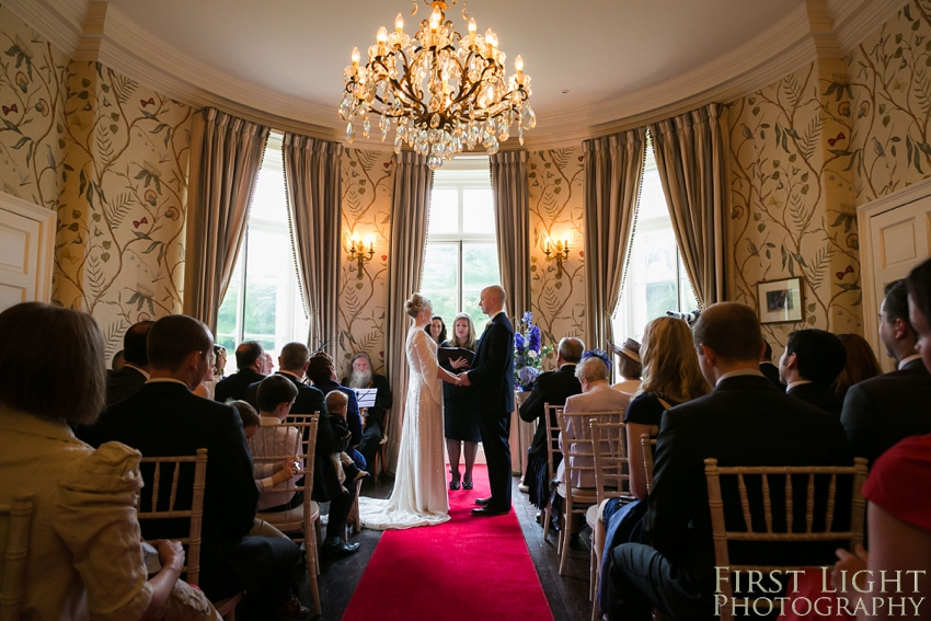 Humanist wedding, Broxmouth Park. Photographed by First Light Photography