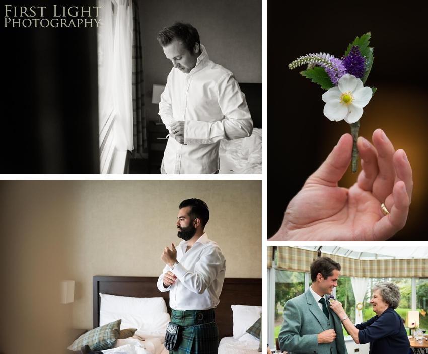 Wedding flowers, wedding details, Ushers