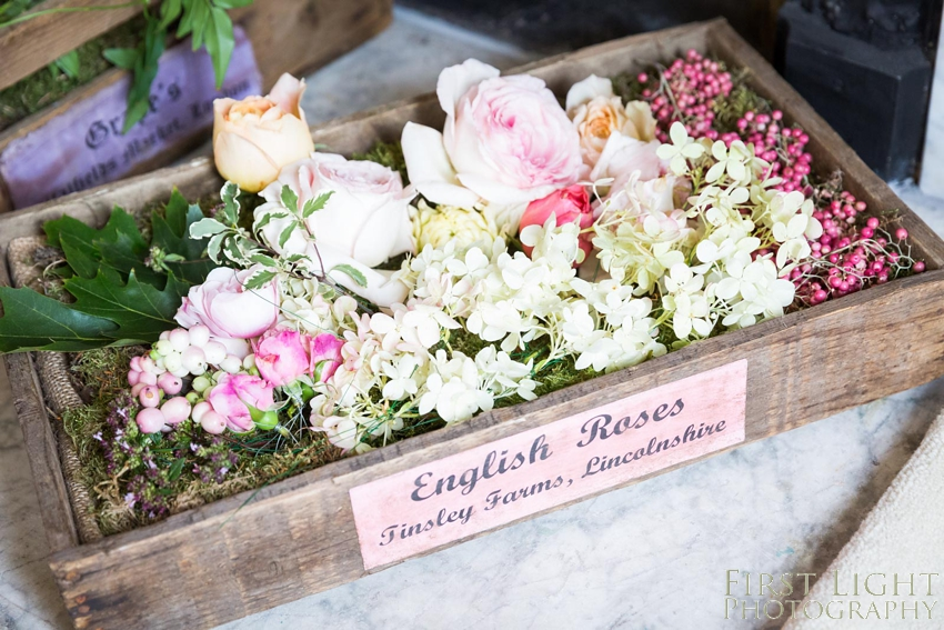 Wedding flowers, weddings roses, english roses,