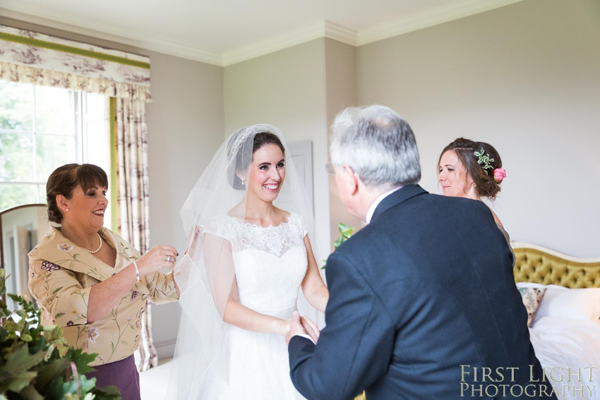Wedding dress, wedding details, bridesmaid