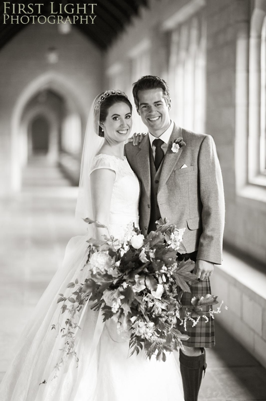Wedding flowers, wedding dress, wedding couple