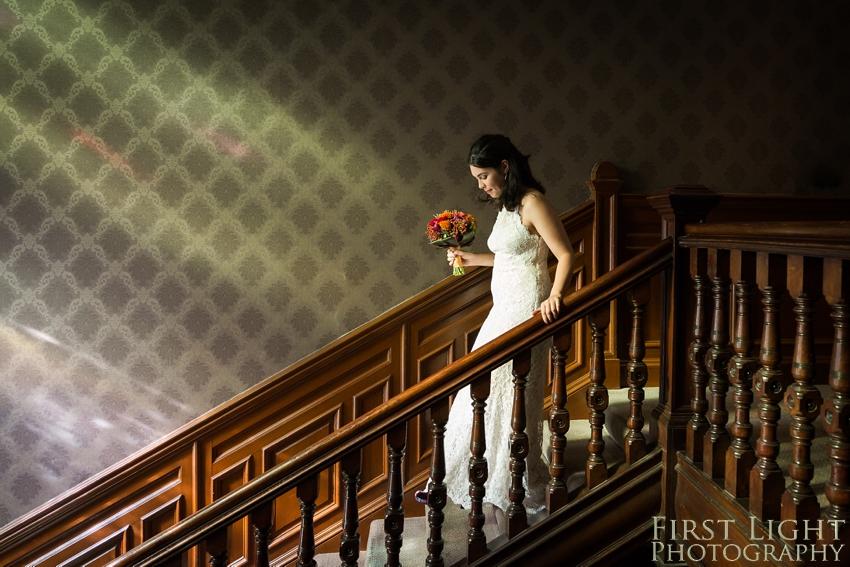Bridal portrait, wedding photographer Scotland