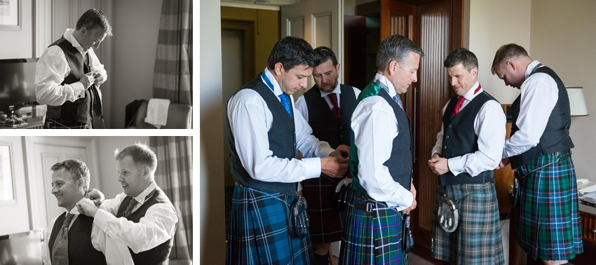 Ushers, groomsmen, bets man,wedding day Gilmerton House, Wedding Photographer, Edinburgh Wedding Photographer, Edinburgh, Scotland, Copyright: First Light Photography