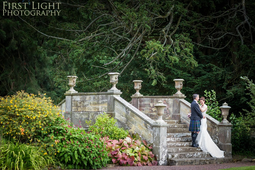 Wedding photo, wedding couple, Gilmerton House, Wedding Photographer, Edinburgh Wedding Photographer, Edinburgh, Scotland, Copyright: First Light Photography