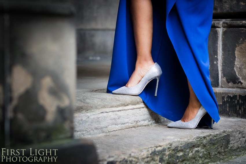 Wedding Elopement, Prestonfield House, Blue Wedding Dress, Edinburgh Wedding Photographer, Copyright:First Light Photography, Scotland