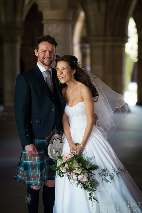 Glasgow University Chapel, Spring Wedding, Lochgreen House Hotel, Glasgow Wedding, Edinburgh Wedding Photographer, Wedding Photographer, Scotland, Copyright: First Light Photography